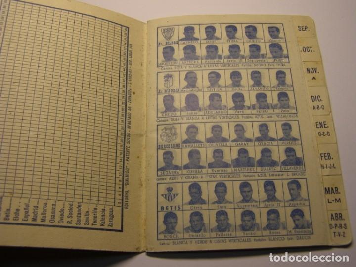 Coleccionismo deportivo: Calendario dinámico de futbol temporada 1961 - 1962 - Foto 3 - 179115707