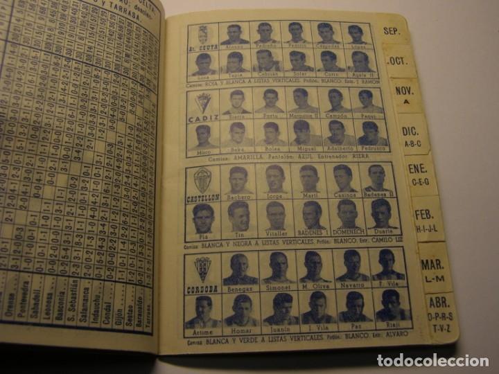 Coleccionismo deportivo: Calendario dinámico de futbol temporada 1961 - 1962 - Foto 4 - 179115707