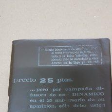 Coleccionismo deportivo: ANUARIO DINÁMICO LIGA FUTBOL 1970- 1971. Lote 180010502