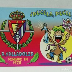 Collectionnisme sportif: CALENDARIO R VALLADOLID 1999 SIN PUBLICIDAD. Lote 181097360