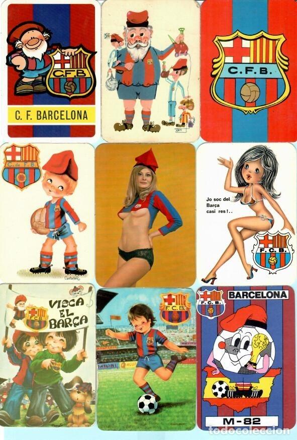 36 CALEMDARIOS DE FUTBOL F, C, B, DEL AÑO 1973 AL 2018 (Coleccionismo Deportivo - Documentos de Deportes - Calendarios)