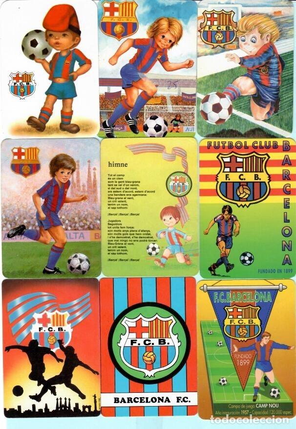 Coleccionismo deportivo: 36 CALEMDARIOS DE FUTBOL F, C, B, DEL AÑO 1973 AL 2018 - Foto 2 - 182198166