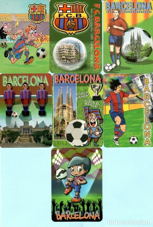 Coleccionismo deportivo: 36 CALEMDARIOS DE FUTBOL F, C, B, DEL AÑO 1973 AL 2018 - Foto 3 - 182198166