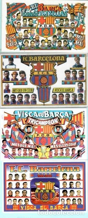 Coleccionismo deportivo: 36 CALEMDARIOS DE FUTBOL F, C, B, DEL AÑO 1973 AL 2018 - Foto 5 - 182198166