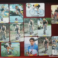 Coleccionismo deportivo: CYCLES GITANES - COLECCIÓN COMPLETA DE 12 CALENDARIOS 1985. Lote 182942988
