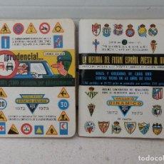 Coleccionismo deportivo: 2 LIBRILLOS, ANUARIO, CALENDARIO DE FUTBOL DINÁMICO. TEMPORADA 1972 - 1973.. Lote 184032356