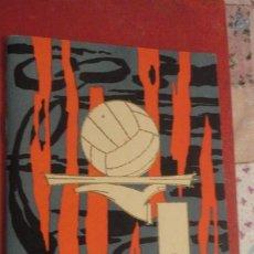 Coleccionismo deportivo: ANTIGUO CALENDARIO LIGA FUTBOL.1962-1963.GRAFICAS SEVILLANAS.SEVILLA F.C-REAL BETIS.LUIS ARAGONES. Lote 184308212