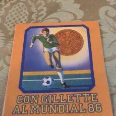 Coleccionismo deportivo: FUTBOL - CALEDARIO - MEXICO 1986 - 8.5X12CM. Lote 184870693