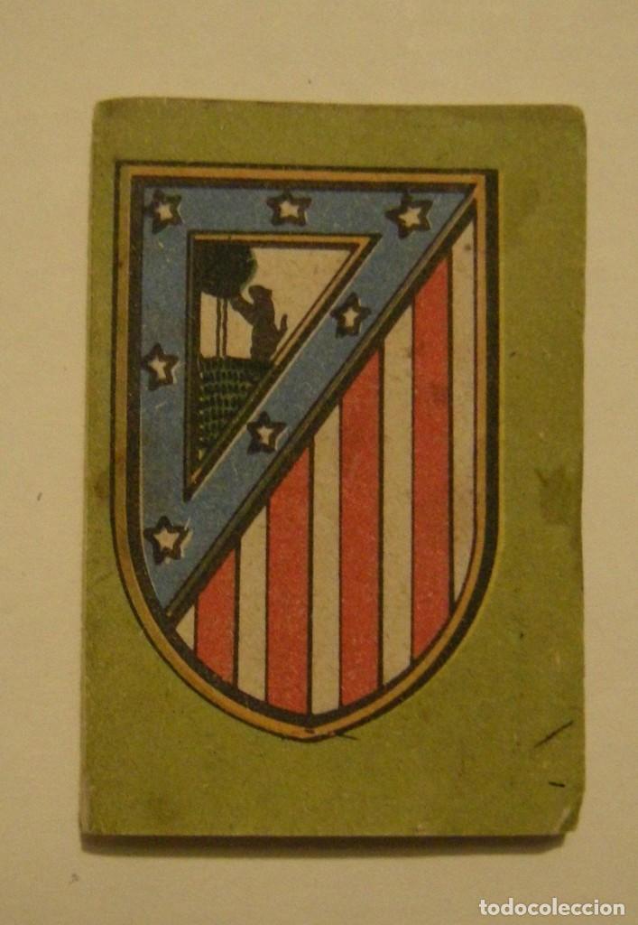 CALENDARIO DE LIGA 1ª DIVISION TEMPORADA 1954-55 PUBLICIDAD CARAMELOS RODRIGUEZ (Coleccionismo Deportivo - Documentos de Deportes - Calendarios)