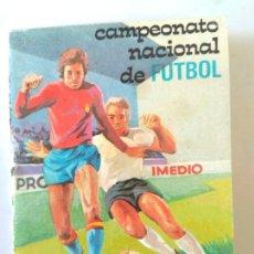 Coleccionismo deportivo: FUTBOL - CALENDARIO DE LIGA - TEMPORADA 1975-76. Lote 186206801