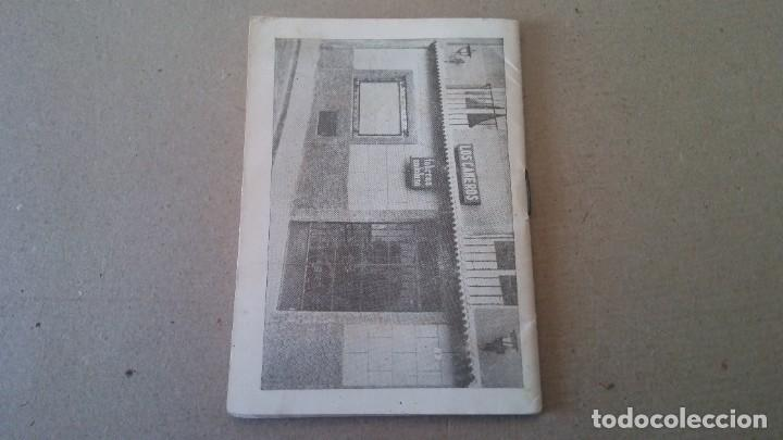 Coleccionismo deportivo: FÚTBOL CALENDARIO DE LIGA TEMPORADA 1967 - 1968 - PUBLICIDAD TABERNA ANDALUZA - Foto 7 - 189110032