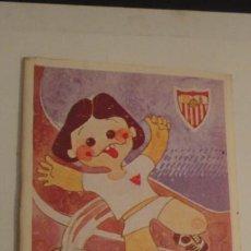 Coleccionismo deportivo: ANTIGUO CALENDARIO.SEVILLA F.C FUTBOL TEMPORADA 1983-84.. Lote 191219156