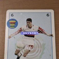 Coleccionismo deportivo: DANI REAL MALLORCA BARAJA MARCA 1998 1999 LIGA FUTBOL PROFESIONAL LFP 98 99 NICCROMO. Lote 193284653