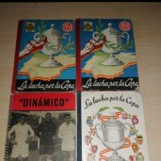 Coleccionismo deportivo: LOTE DINÁMICO - LA LUCHA POR LA COPA - 1956, 1957, 1958, 1959.. Lote 193425967
