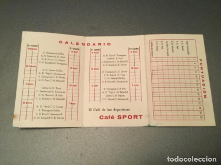 Coleccionismo deportivo: Campeonato cataluña, baloncesto.2º grupo.Fase final. cafe sport llansa, LLANÇA . grifeu, TEYA,ETC - Foto 3 - 193970025