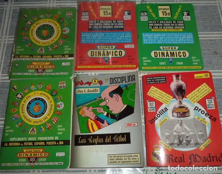 Coleccionismo deportivo: DINAMICO HISTORIA FUTBOL Y ANUARIOS 37 TOMOS EN SU ESTUCHE AÑOS 70 Y 80 - Foto 6 - 194109173