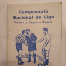 Coleccionismo deportivo: CN CALENDARIO CAMPEONATO NACIONAL DE LIGA PRIMERA Y SEGUNDA DIVISIÓN. AD ALMERÍA. COSMESA.. Lote 194240298