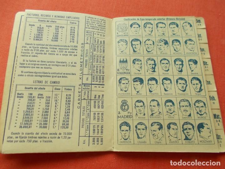 Coleccionismo deportivo: CALENDARIO DEPORTIVO DE LIGA 1953-54 IGUALATORIO MEDICO-QUIRURGICO DE ZARAGOZA - Foto 2 - 194243627