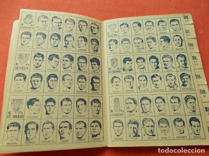 Coleccionismo deportivo: CALENDARIO DEPORTIVO DE LIGA 1953-54 IGUALATORIO MEDICO-QUIRURGICO DE ZARAGOZA - Foto 3 - 194243627
