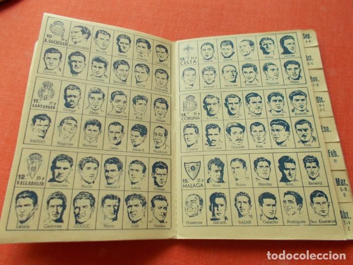 Coleccionismo deportivo: CALENDARIO DEPORTIVO DE LIGA 1953-54 IGUALATORIO MEDICO-QUIRURGICO DE ZARAGOZA - Foto 4 - 194243627