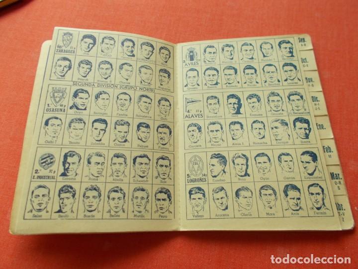 Coleccionismo deportivo: CALENDARIO DEPORTIVO DE LIGA 1953-54 IGUALATORIO MEDICO-QUIRURGICO DE ZARAGOZA - Foto 5 - 194243627