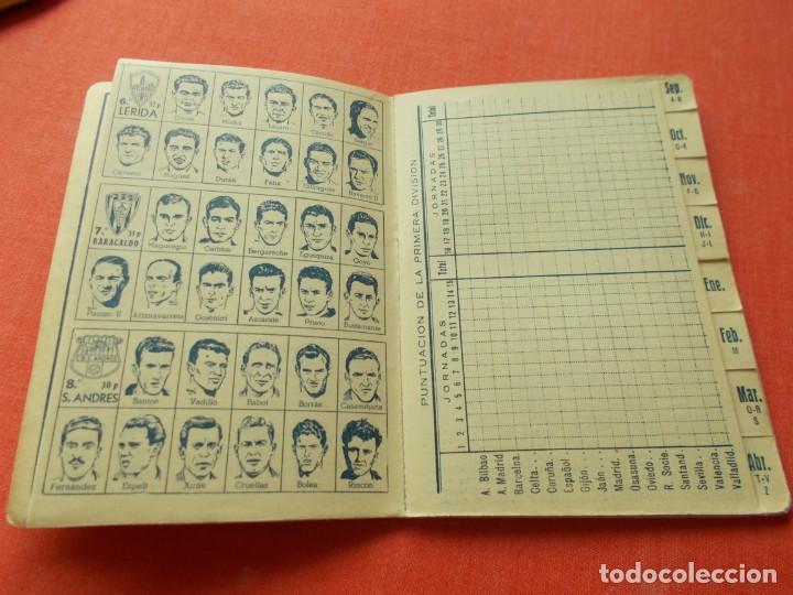 Coleccionismo deportivo: CALENDARIO DEPORTIVO DE LIGA 1953-54 IGUALATORIO MEDICO-QUIRURGICO DE ZARAGOZA - Foto 6 - 194243627