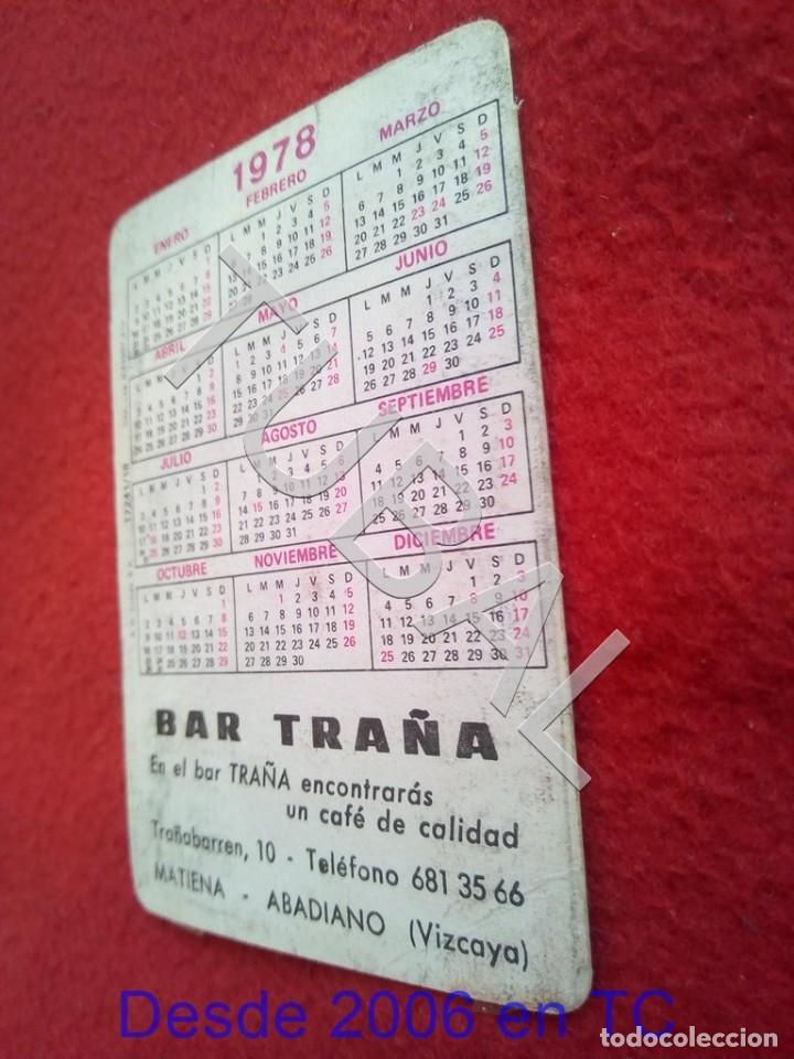 Coleccionismo deportivo: TUBAL ATHLETIC BILBAO BAR TRAÑA MATIENA ABADIANO 1978 B49 - Foto 2 - 195285106