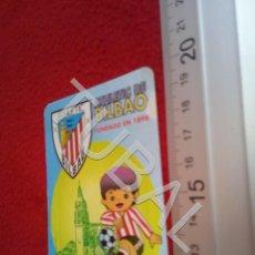 Coleccionismo deportivo: TUBAL ATHLETIC BILBAO CAÑAMERO CACERES BAR RESTAURANTE XIMENEZ CALENDARIO 1996 B49. Lote 195289798