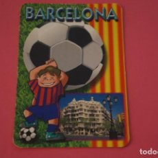Coleccionismo deportivo: CALENDARIO DE BOLSILLO FUTBOL F.C. BARCELONA AÑO 2006 LOTE 3 MIRAR FOTOS. Lote 195911405