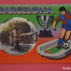 Coleccionismo deportivo: CALENDARIO DE BOLSILLO FUTBOL F.C. BARCELONA AÑO 2005 LOTE 3 MIRAR FOTOS. Lote 195911461