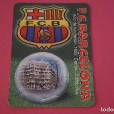 Coleccionismo deportivo: CALENDARIO DE BOLSILLO FUTBOL F.C. BARCELONA AÑO 2004 LOTE 3 MIRAR FOTOS. Lote 195911493