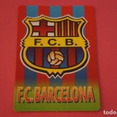 Coleccionismo deportivo: CALENDARIO DE BOLSILLO FUTBOL F.C. BARCELONA AÑO 2004 LOTE 3 MIRAR FOTOS. Lote 195911525