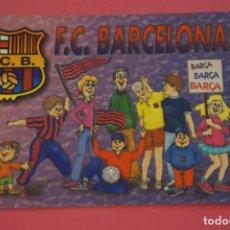Coleccionismo deportivo: CALENDARIO DE BOLSILLO FUTBOL F.C. BARCELONA AÑO 2003 LOTE 3 MIRAR FOTOS. Lote 195911565