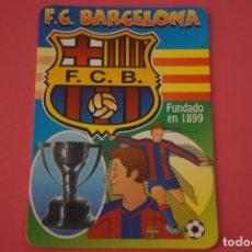 Coleccionismo deportivo: CALENDARIO DE BOLSILLO FUTBOL F.C. BARCELONA AÑO 2000 LOTE 3 MIRAR FOTOS. Lote 195911665