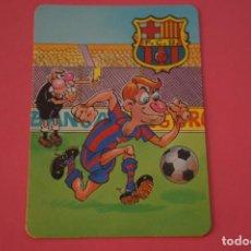 Coleccionismo deportivo: CALENDARIO DE BOLSILLO FUTBOL F.C. BARCELONA AÑO 2000 LOTE 3 MIRAR FOTOS. Lote 195911835