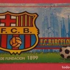 Coleccionismo deportivo: CALENDARIO DE BOLSILLO FUTBOL F.C. BARCELONA AÑO 1999 LOTE 3 MIRAR FOTOS. Lote 195911905