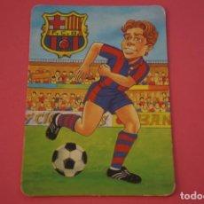 Coleccionismo deportivo: CALENDARIO DE BOLSILLO FUTBOL F.C. BARCELONA AÑO 1999 LOTE 3 MIRAR FOTOS. Lote 195911925