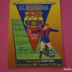 Coleccionismo deportivo: CALENDARIO DE BOLSILLO FUTBOL F.C. BARCELONA AÑO 1998 LOTE 3 MIRAR FOTOS. Lote 195911986