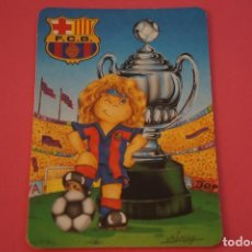 Coleccionismo deportivo: CALENDARIO DE BOLSILLO FUTBOL F.C. BARCELONA AÑO 1998 LOTE 3 MIRAR FOTOS. Lote 195912031