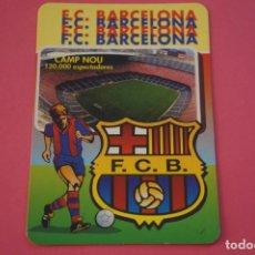 Coleccionismo deportivo: CALENDARIO DE BOLSILLO FUTBOL F.C. BARCELONA AÑO 1998 LOTE 3 MIRAR FOTOS. Lote 195912082