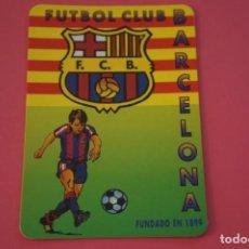 Coleccionismo deportivo: CALENDARIO DE BOLSILLO FUTBOL F.C. BARCELONA AÑO 1997 LOTE 3 MIRAR FOTOS. Lote 195912822