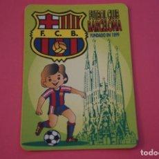 Coleccionismo deportivo: CALENDARIO DE BOLSILLO FUTBOL F.C. BARCELONA AÑO 1996 LOTE 3 MIRAR FOTOS. Lote 195912856