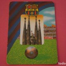 Coleccionismo deportivo: CALENDARIO DE BOLSILLO FUTBOL F.C. BARCELONA AÑO 1996 LOTE 3 MIRAR FOTOS. Lote 195912941