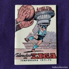 Coleccionismo deportivo: AGENDA DEPORTIVA CALENDARIO DE LIGA 1971-72. DEPORTIVO ALAVES. VITORIA. ALAVA. Lote 197442697