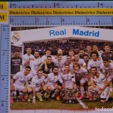 Collectionnisme sportif: CALENDARIO DE BOLSILLO. FÚTBOL. AÑO 2016. REAL MADRID CF. PEÑA MADRIDISTA DE PORCUNA JAEN. Lote 197685666