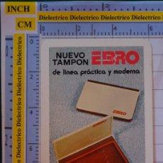 Coleccionismo deportivo: CALENDARIO DE BOLSILLO. FOURNIER. AÑO 1978 NUEVO TAMPÓN EBRO. Lote 197688126
