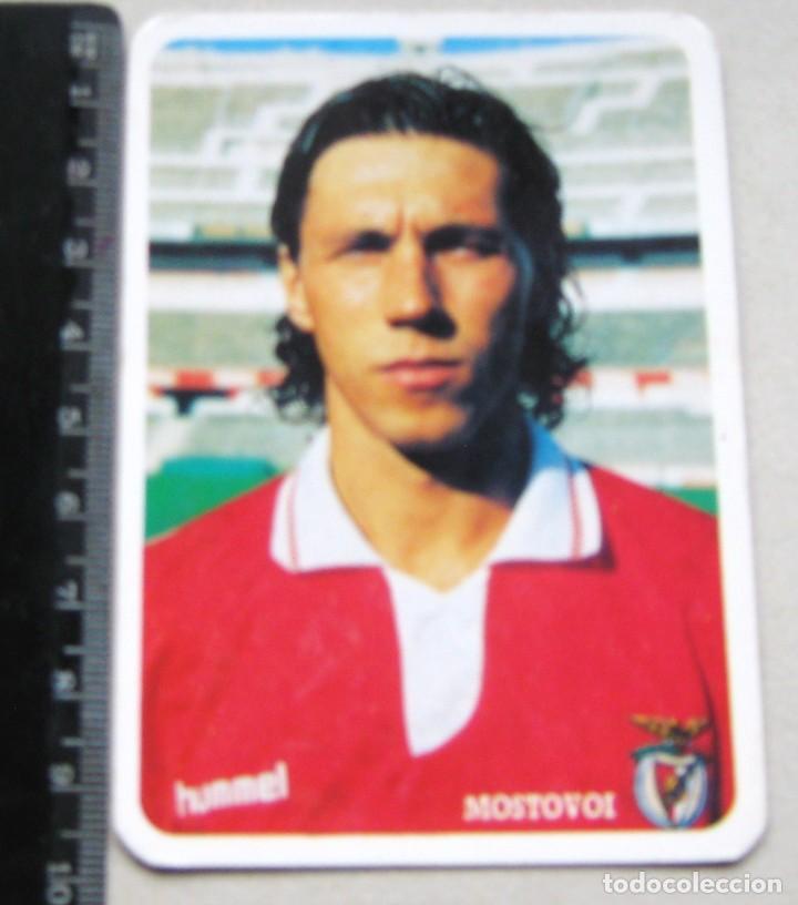 MOSTOVOI PORTUGAL LISBOA CALENDARIO BOLSILLO 1994 ED. LOJA DO BENFICA CROMO POSTAL STICKER (Coleccionismo Deportivo - Documentos de Deportes - Calendarios)