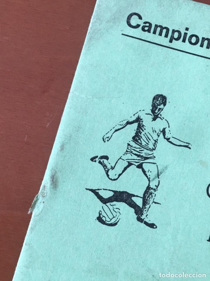 Coleccionismo deportivo: PROGRAMA FUTBOL CAMPEONATO TEMPORADA 1980-81 SEGONA CAT. REGIONAL (TONA, CENTELLES,TARADELL .. OSONA - Foto 2 - 199034968
