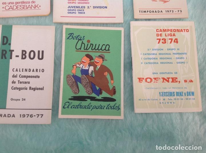 Coleccionismo deportivo: LOTE DE 16 CALENDARIOS DE FUTBOL, TEMPORADAS 70-80 - Foto 7 - 199838846