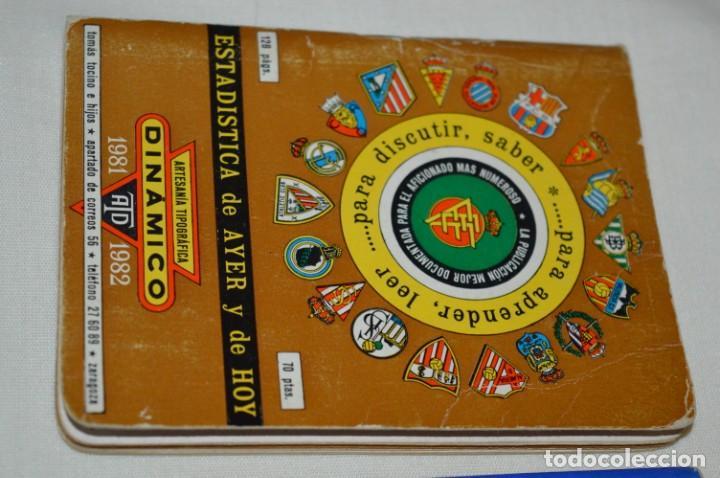 Coleccionismo deportivo: Lote antiguo CALENDARIOS FÚTBOL - Dinámico y otras marcas - desde años 40 a 80 ¡Mira fotos/detalles! - Foto 4 - 200294245